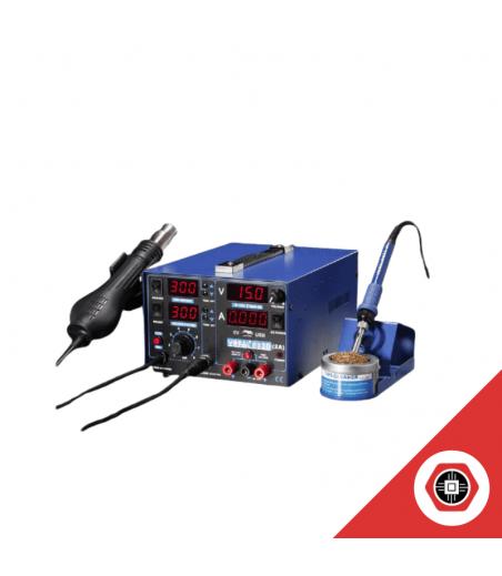 Station Air Chaud Fer à Souder Alimentation Yihua 853D USB 3A 3 en 1