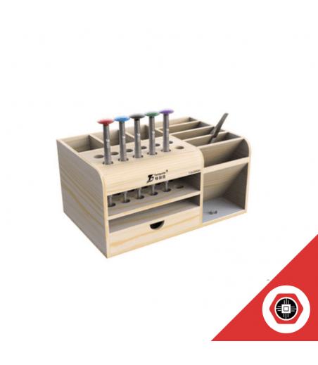 Boite de Rangement en bois avec tiroir