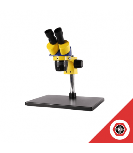 Microscope Binoculaire Zoom x45 avec Lentille Barlow 0.5x