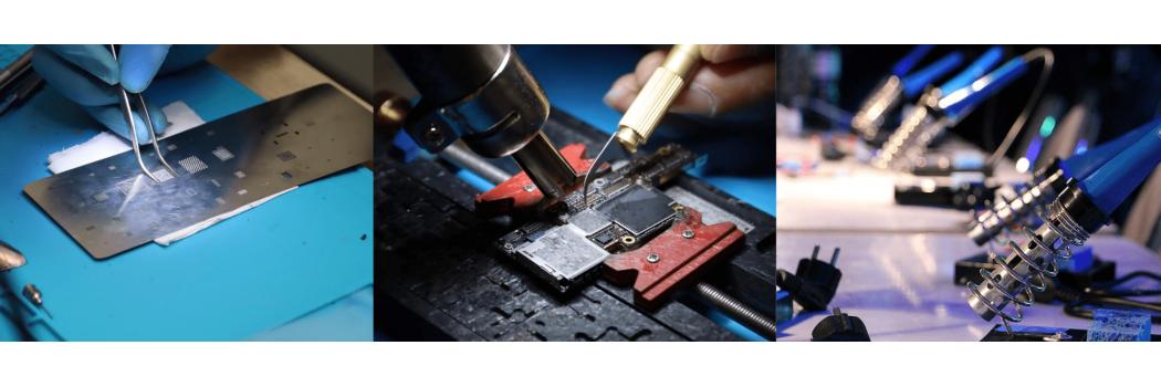 Pinces et Lames - Outils de Microsoudure - The Repair Academy Store